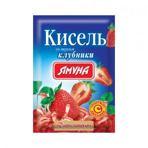 Кисель со вкусом клубники Ямуна, 65 г
