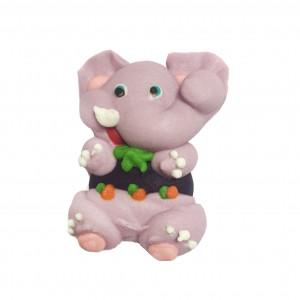 Сахарная фигурка Слоненок фиолетовый