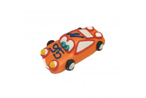 Сахарная фигурка Машинка оранжевая