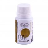 Краситель гелевый оливковый, 10 г