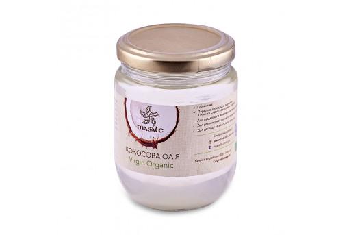 Кокосовое масло нерафинированное органическое, 500 мл