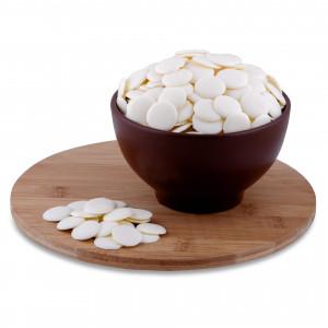 Глазурь монетки белые 12 кг