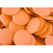 Глазурь монетки оранжевые