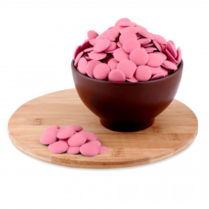 Глазурь монетки розовые 12 кг