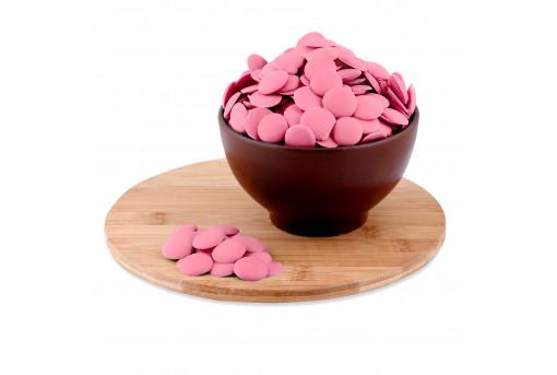 Глазурь монетки розовые