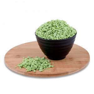 Глазурь осколки зеленые