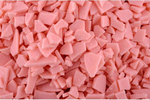 Глазурь осколки розовые
