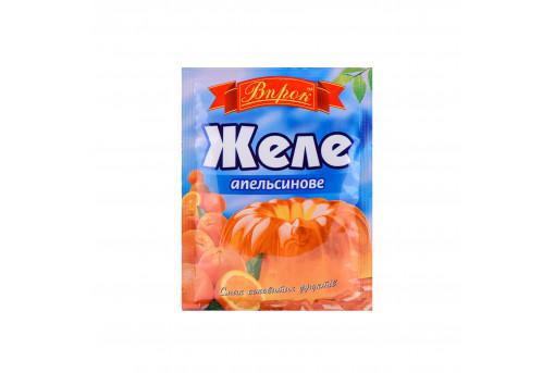 Желе со вкусом апельсина Впрок, 80 г