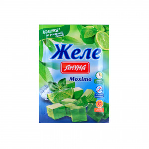 Желе со вкусом мохито Ямуна, 80 г
