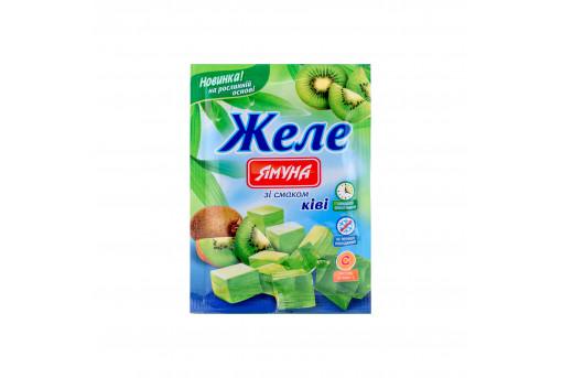 Желе со вкусом киви Ямуна, 80 г