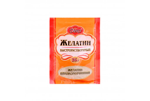 Желатин быстрорастворимый Dekо, 25 г
