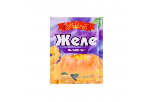 Желе со вкусом лимона Впрок, 80 г