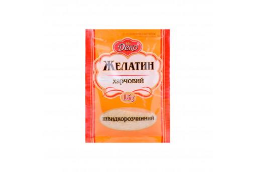 Желатин быстрорастворимый Deko, 15 г