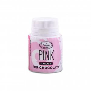 Краситель для шоколада розовый, 18 г