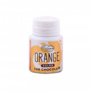 Краситель для шоколада оранжевый, 18 г