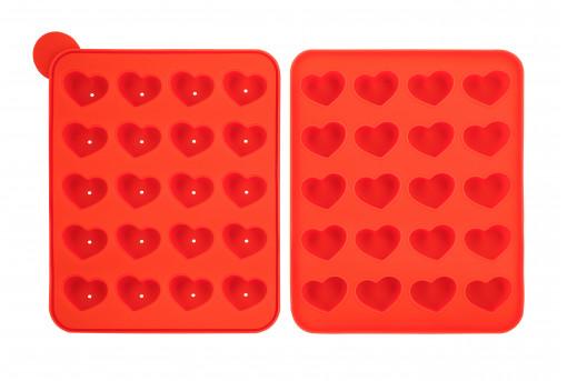 Форма силиконовая для кейк-попсов Сердце
