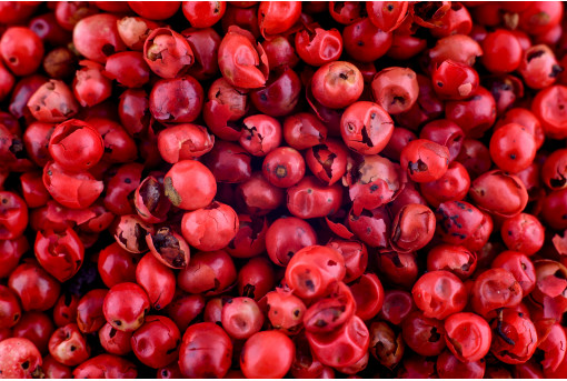 Перец розовый горошек