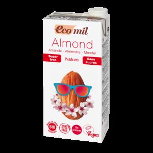 Молоко миндальное без сахара, 1 л