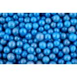 Сахарные жемчужины перламутровые голубые