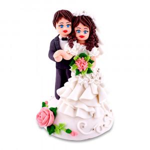 Сахарная фигурка Жених и невеста