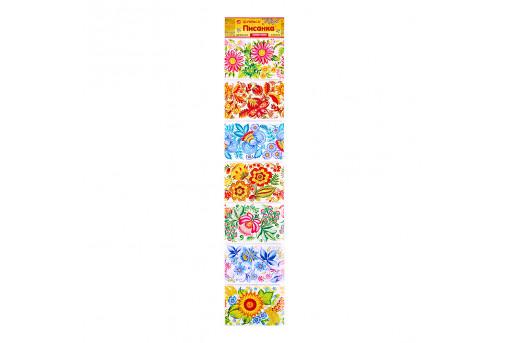 Пасхальная лента для яиц Цветочная роспись