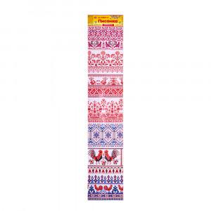 Пасхальная лента для яиц Вишиванка №21