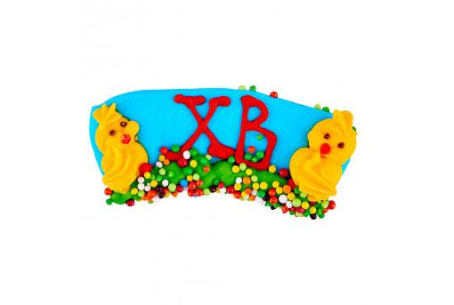 Сахарная фигурка Весточка с цыплятами