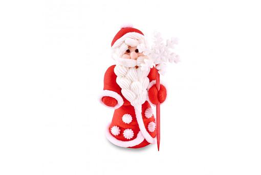 Сахарная фигурка Дед Мороз (объемный)