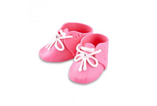 Сахарные фигурки Пинетки розовые