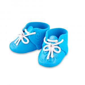 Сахарные фигурки Пинетки голубые