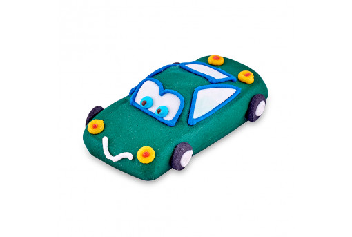 Сахарная фигурка Машинка зеленая