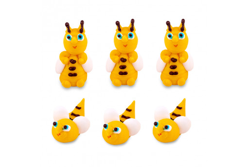 Сахарные фигурки Пчелки