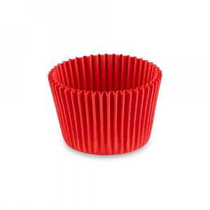 Форма бумажная для кексов красная