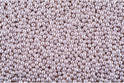 Сахарные жемчужины серебряные 2 мм