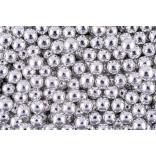 Сахарные жемчужины серебряные 5 мм