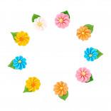 Сахарные фигурки Цветочек - звездочка