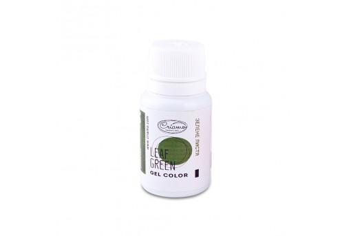 Краситель гелевый зеленый лиственный, 10 г