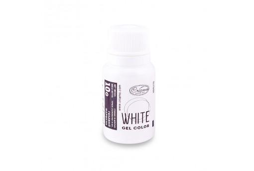 Краситель гелевый белый, 10 г