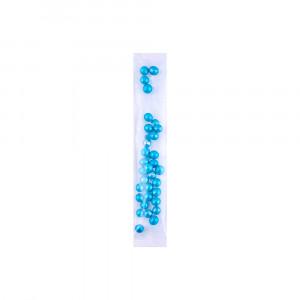 Сахарные жемчужины голубые в стике, 3 г