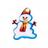 Сахарная фигурка Снеговик