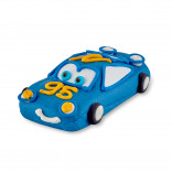 Сахарная фигурка Машинка синяя
