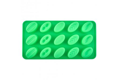 Форма силиконовая для конфет Овальная