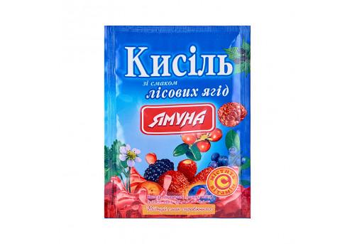 Кисель со вкусом лесных ягод Ямуна, 65 г