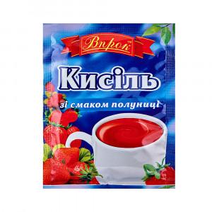 Кисель со вкусом клубники Впрок, 65 г