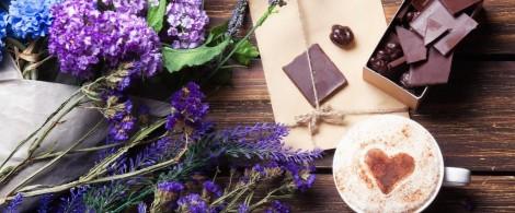 Лавандовый шоколад