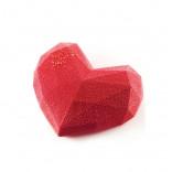 Форма силиконовая Сердце-оригами, Silikomart
