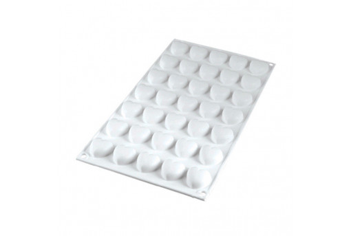 Форма силиконовая Микро-сердечки, Silikomart