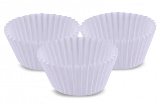 Форма бумажная для кексов белая