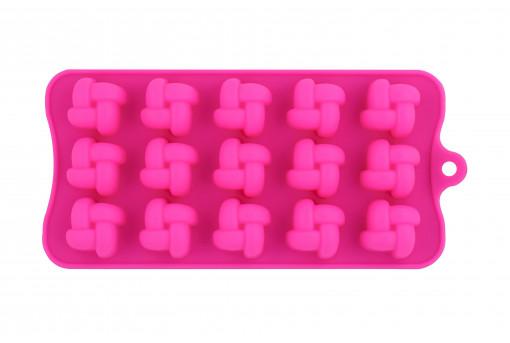 Форма силиконовая для конфет Фигурная
